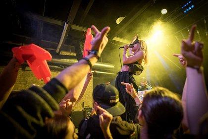 Gegensätze ziehen an - Fotos von Antifuchs als Opener von Callejon live in Wiesbaden