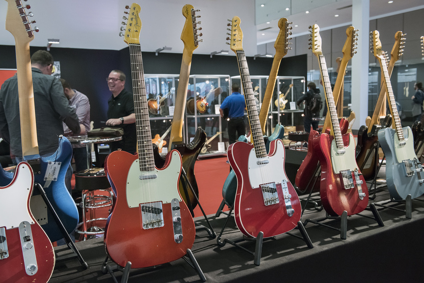 Die World of Vintage Guitars im Jahr 2018