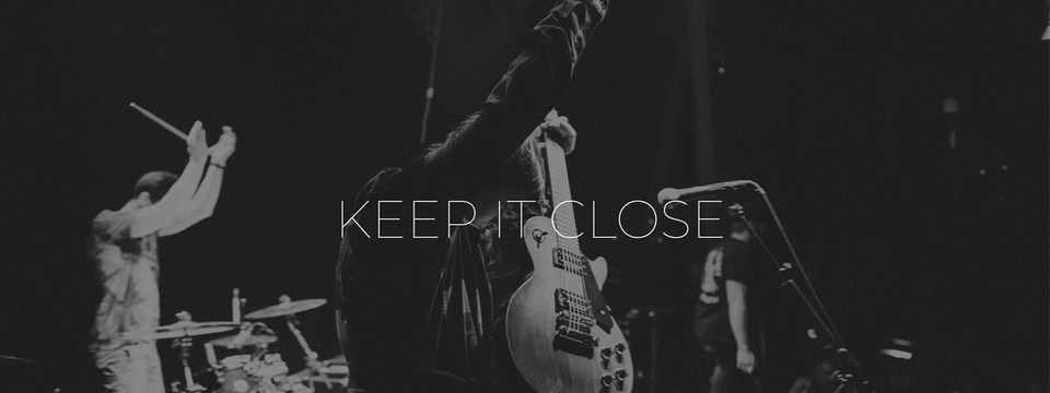 Supportband gesucht in LEIPZIG - KEEP IT CLOSE