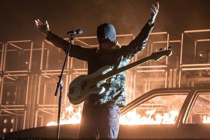 """Trendfarbe: gelb - Twenty One Pilots: Fotos der """"Bandito""""-Tour live in Hamburg"""
