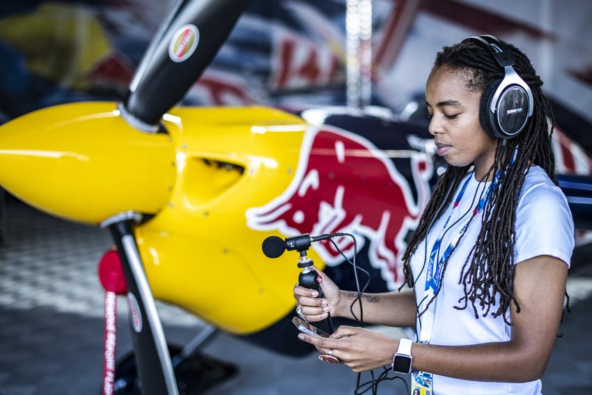 Das neue MV88+ Video Kit von Shure beim Air Race von Red Bull