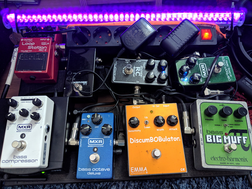 Tieftöner-Pedalboard: Welche Effekte und Pedale eignen sich für Bassisten?