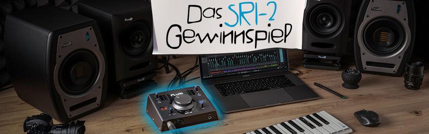 Gewinne eines von zwei SRI-2 Audio-Interfaces von Fluid Audio!