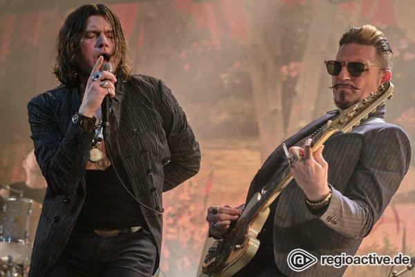 Mit Hingabe - Rockig: Bilder der Rival Sons live in der Batschkapp Frankfurt