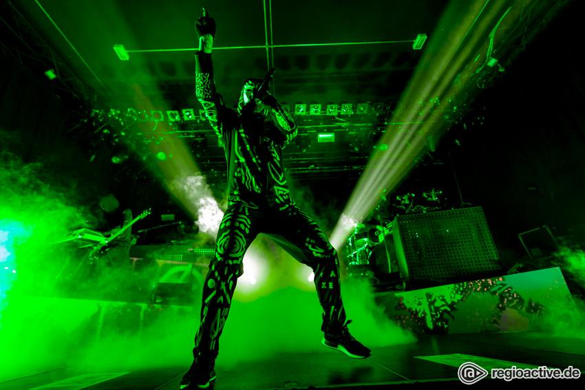 Alle Augen leuchten Green! - Marsimoto versetzt die Batschkapp Frankfurt in einen Rauschzustand