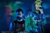 Melodisch: Bilder von Bastille live in der Jahrhunderthalle in Frankfurt