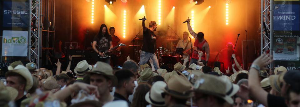 Spielt auf der Gleis4-Bühne beim Strohhutfest 2019 in Frankenthal