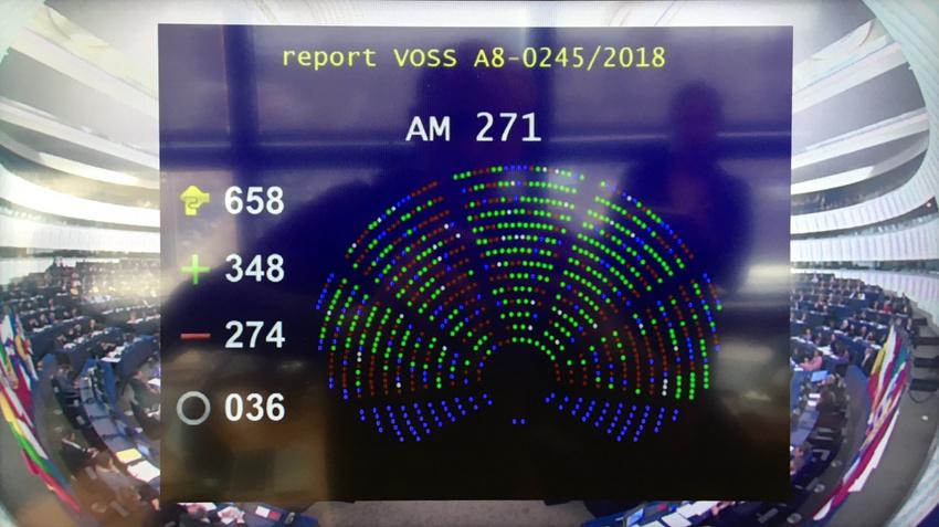 Das EU-Parlament genehmigt den Entwurf der Urheberrechtsreform ohne weitere Änderungen