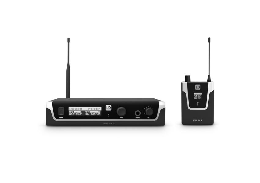 LD Systems präsentiert U500 In-Ear-Monitoring-Systeme im Zuge neuer Markenausrichtung auf der Prolight + Sound
