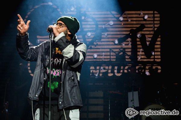 Etwas zum Feiern - Samy Deluxe: Live-Fotos von SaMTV Unplugged in der Festhalle Frankfurt