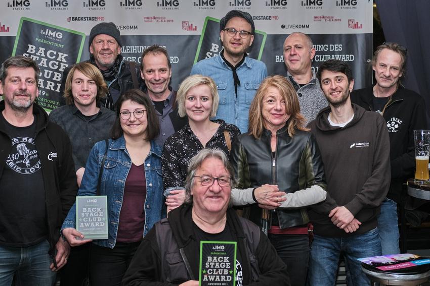 Verleihung des BACKSTAGE Clubaward 2019: Ein großer Tag für die (bayerische) Clubkultur