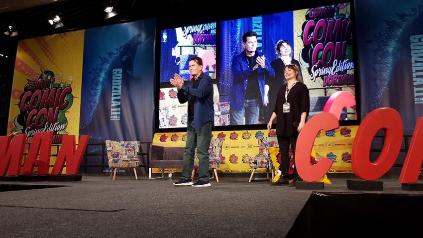 Charlie Sheen live bei der German Comic Con in Dortmund