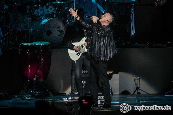 Auf das Leben - Eros Ramazzotti: Bilder des Italieners live in der SAP Arena Mannheim