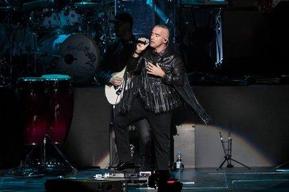 Volksnaher römischer Gott der Liebe - Eros Ramazzotti weiß die SAP Arena Mannheim vollends zu begeistern