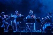 Premiere: Fotos von Giorgio Moroder live in der Frankfurter Jahrhunderthalle