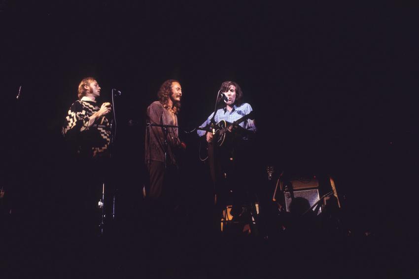 Crosby, Stills & Nash live in Woodstock