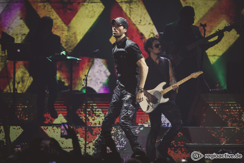 Enrique Iglesias Live in Köln, Lanxess Arena, 09.05.2019