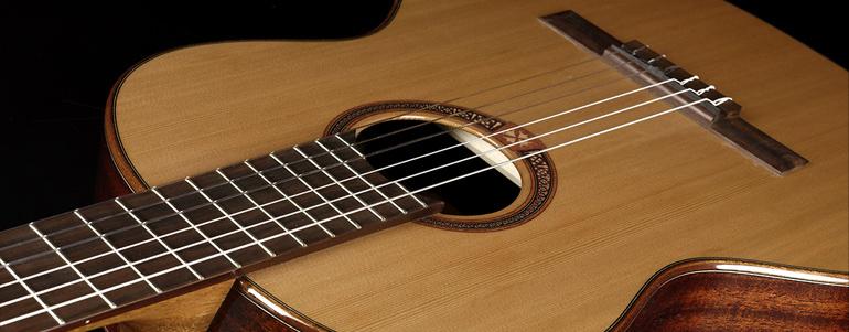 LAG stellt neue Classic-Gitarrenserie mit 51mm Sattelbreite vor