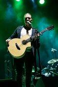 Live-Fotos von C. B. Green als Opener von Bonnie Tyler live in Karlsruhe