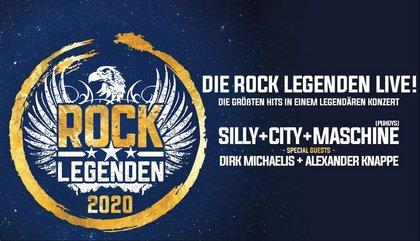 Überraschend - Silly + City + Maschine: Rock Legenden auf Tour 2020