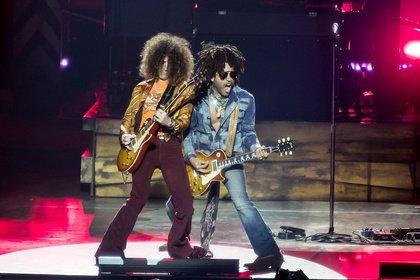 Rockig und funkig - Rasta-Man: Fotos von Lenny Kravitz live in der SAP Arena Mannheim