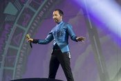 Kunterbunt: Live-Bilder von DJ BoBo in der SAP Arena Mannheim