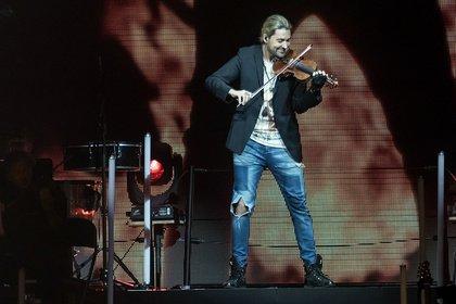 """Die größten Erfolge - David Garrett: Fotos der """"Unlimited""""-Tour live in der SAP Arena Mannheim"""