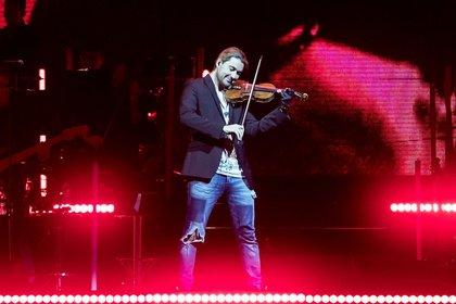 Musikalisch grenzenlos - David Garrett sorgt in der SAP Arena Mannheim für Gänsehautmomente