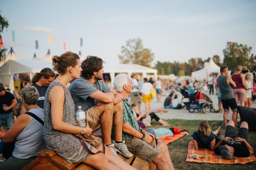 Zahlreiche Festivals (hier: das A Summer's Tale) bieten Komfortangebote - allerdings für einen deutlichen Aufpreis.