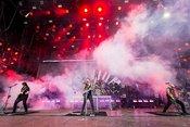 Mit Zunge: Bilder von Trivium live bei Rock am Ring 2019