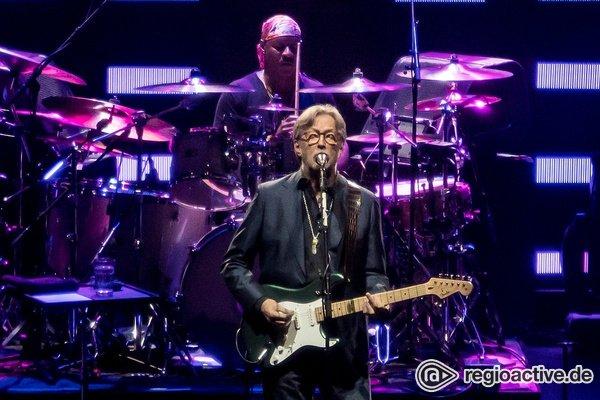 Ein besonderer Abend - Eric Clapton sorgt in der SAP Arena Mannheim für Überraschungen