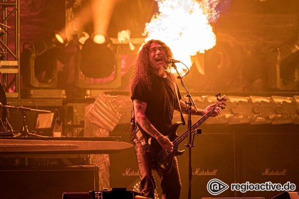 Abrissbirnen vor dem Abschied - Thrash-Urgesteine: Fotos von Slayer live bei Rock am Ring 2019