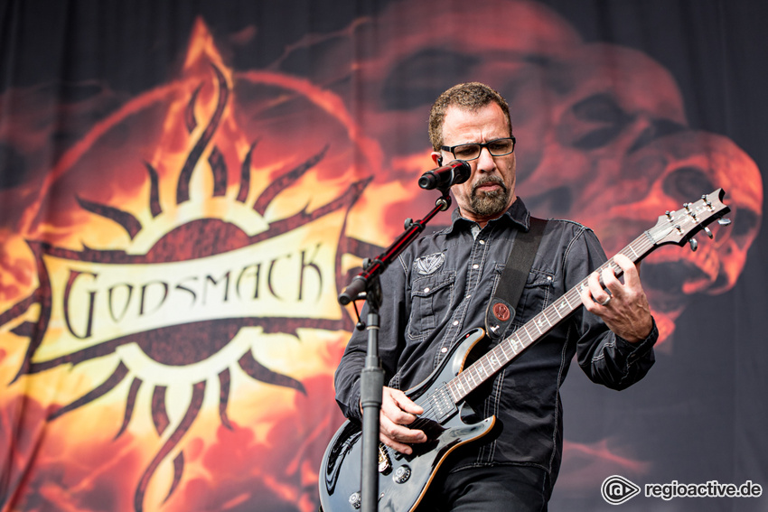 Godsmack (live bei Rock am Ring, 2019)