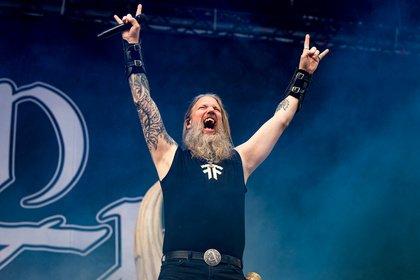 Mächtig - Wikinger: Bilder von Amon Amarth live bei Rock am Ring 2019