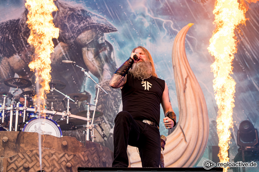 Amon Amarth (live bei Rock am Ring, 2019)