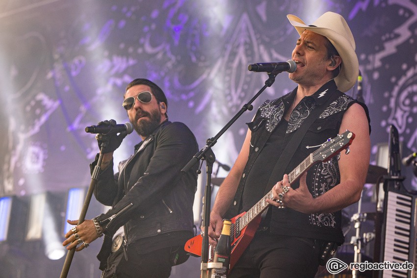 "Umfangreich - The BossHoss live: Große ""Black Is Beautiful"" Open Air-Tour 2020"