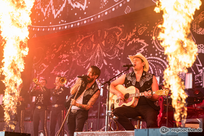 The BossHoss (live bei Rock am Ring, 2019)