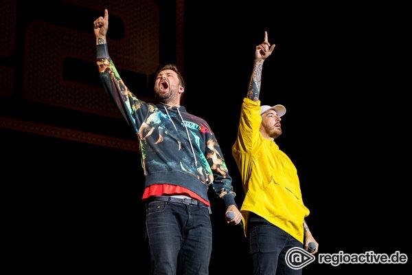 Hip-Hop im Doppelpack - Marteria & Casper: Bilder des Duos live bei Rock am Ring 2019