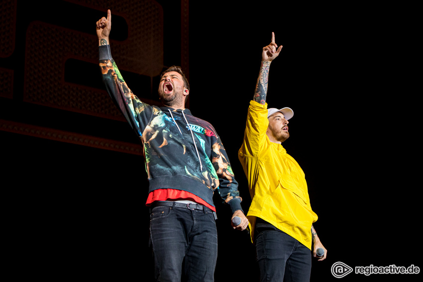 Marteria & Casper (live bei Rock am Ring, 2019)