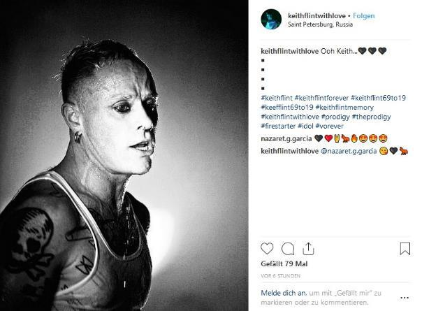 Keith Flynt (The Prodigy)