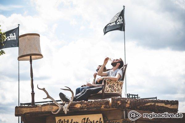 Stimmungsvoll - Sommerfeeling: Impressionen vom Samstag beim Maifeld Derby 2019
