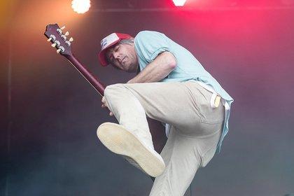 Beweglich - Stephen Malkmus: Fotos des Ex-Pavement-Sängers live beim Maifeld Derby 2019