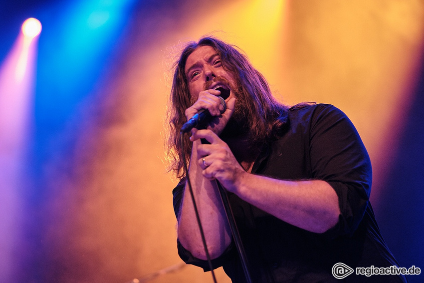 Old-school - Live-Bilder von D'Angerous als Support von Wolfmother in Wiesbaden