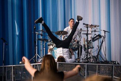 Volle Härte - Wild: Bilder von Enter Shikari live beim Hurricane Festival 2019