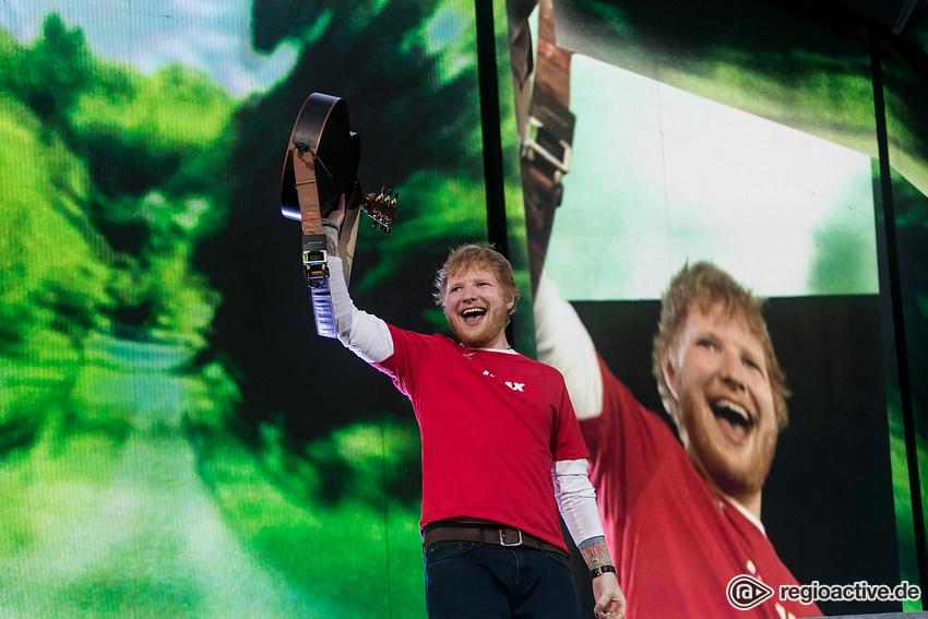 Ed Sheeran Konzert Hockenheim