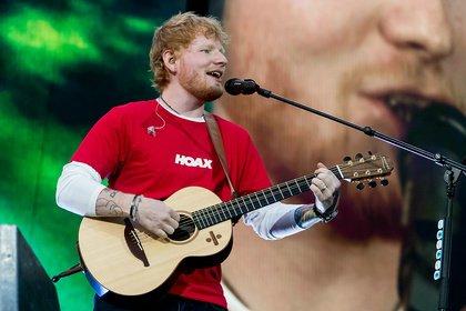 Gigantisch - Ed Sheeran: Bilder des Megastars live auf dem Hockenheimring