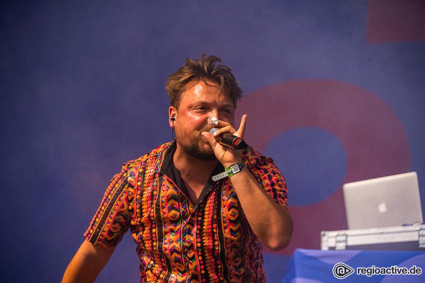 Die Orsons (live beim Hurricane Festival 2019)