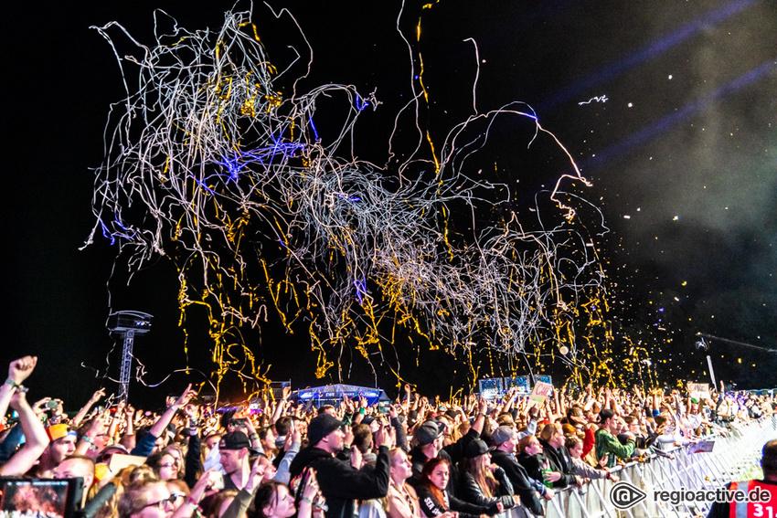 Steve Aoki (live beim Hurricane Festival 2019)
