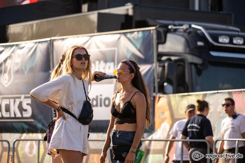 Impressionen vom Samstag beim Hurricane Festival 2019