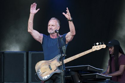 Der 17-fache Grammy-Gewinner - Sting geht im Sommer 2020 auf große Deutschlandtour